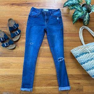 {PacSun} Low Rise Denim Skinny Jeans